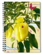 Yellow Pepper Spiral Notebook