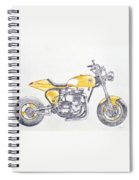 Yellow Peril Spiral Notebook