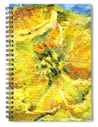 Yellow Poppy Spiral Notebook