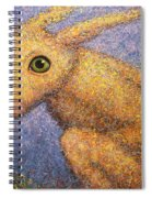 Yellow Rabbit Spiral Notebook