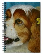 Yellow Ribbons Spiral Notebook