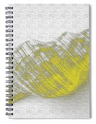 Yellow Seashell Spiral Notebook