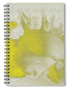Yellow Shell Spiral Notebook