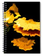 Yellow Shelves Spiral Notebook