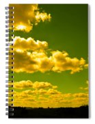 Yellow Skies Spiral Notebook