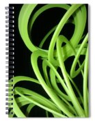 Yellow Slinky 2 Spiral Notebook