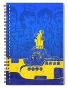 Yellow Submarine Spiral Notebook