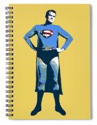 Yellow Superman Spiral Notebook