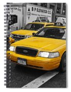 Yellow Taxi Color Pop Spiral Notebook