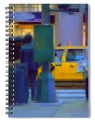 Yellow Taxi Spiral Notebook