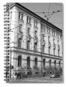 Yellow Tram Spiral Notebook