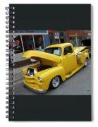 Yellow Truck Spiral Notebook