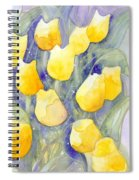 Yellow Tulips 1 Spiral Notebook