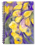 Yellow Tulips 3 Spiral Notebook