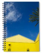 Yellow Warehouse Spiral Notebook