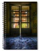 Yellow Way Spiral Notebook