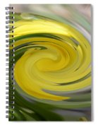 Yellow Whirlpool Spiral Notebook