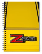 Yellow Z28 Spiral Notebook