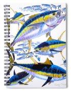 Yellowfin Run Spiral Notebook