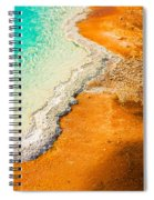 Yellowstone Abstract Spiral Notebook