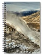 Yellowstone Canary Spiral Notebook