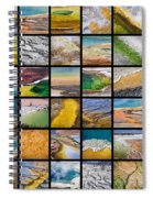 Yellowstone Colors Spiral Notebook