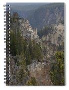 Yellowstone Grand Canyon Spiral Notebook