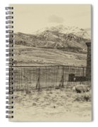 Yellowstone Grand Entrance Spiral Notebook