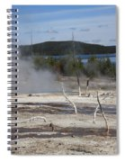 Yellowstone National Park - Hot Springs Spiral Notebook