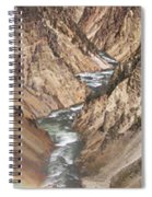 Yellowstone National Park Montana  3 Panel Composite Spiral Notebook