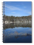 Yellowstone National Park - Mountain Lake Spiral Notebook