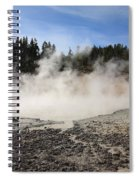 Yellowstone National Park - Mud Pots Spiral Notebook