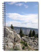Yellowstone N P Landscape Spiral Notebook