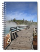 Yellowstone Park - West Thumb Geyser Basin Spiral Notebook