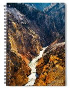 Yellowstone River Spiral Notebook