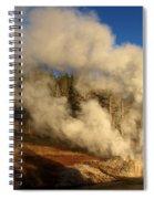 Yellowstone Riverside Eruption Spiral Notebook