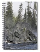 Yellowstone - The Rock Tree Spiral Notebook
