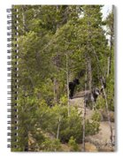 Yellowstone Wolves Spiral Notebook