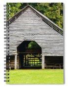 Yesterdays Barn Spiral Notebook