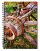 Yesterday's Wheel Spiral Notebook