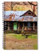 Yesteryear Spiral Notebook