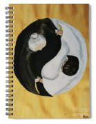 Yin Yang  Generations Hand In Hand Spiral Notebook