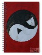 Yin Yang Maternity Spiral Notebook