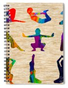 Yoga Poses Spiral Notebook
