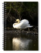 Yogi Swan Spiral Notebook