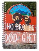 Yoho Brothers Spiral Notebook