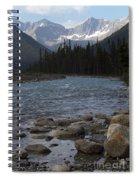 Yoho National Park British Columbia Spiral Notebook