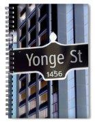 Yonge Street Spiral Notebook
