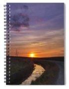 Yorkshire Sunset  Spiral Notebook
