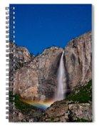 Yosemite Falls Moonbow Spiral Notebook